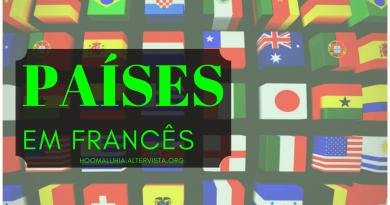 países em francês
