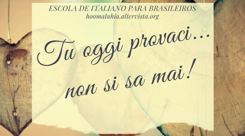 FRASES ITALIANAS PARA APRENDER ITALIANO