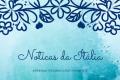 Notícias italianas e outros textos em língua italiana