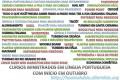 Cursos novos ministrados em língua portuguesa com início em outubro