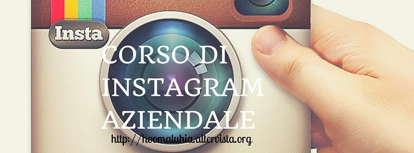 Corso di Instagram Aziendale