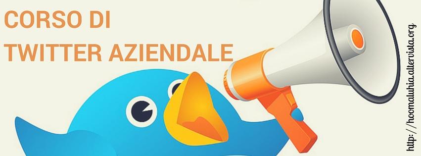 Corso di Twitter aziendale