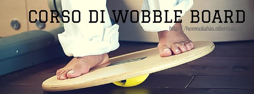 Corso di wobble board