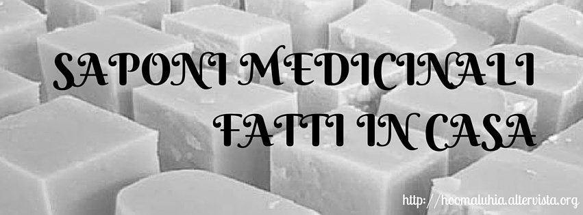 Saponi medicinali fatti a casa