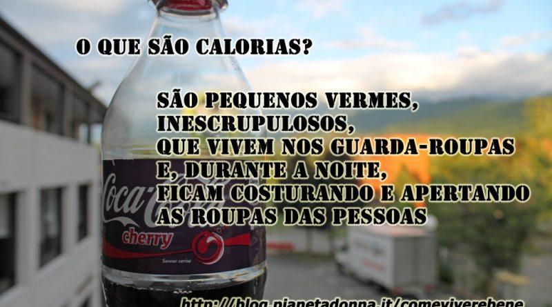 o que sao calorias