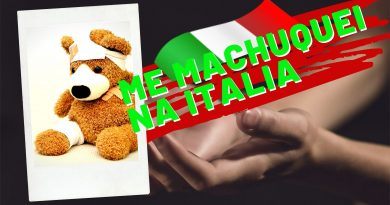 ME MACHUQUEI NA ITALIA
