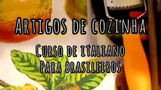 artigos de cozinha italianos