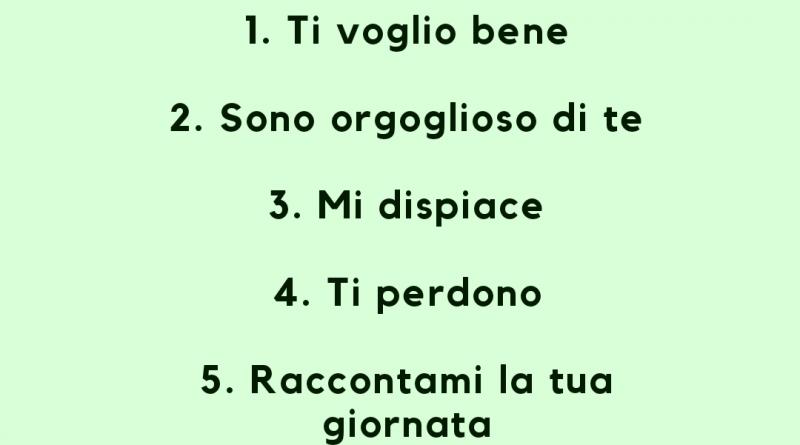 7 cose da dire ai bambini