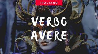 Verbo TER em italiano - Verbo AVERE - Aula de italiano para brasileiros
