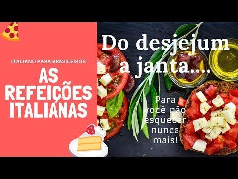 as refeicoes italianas
