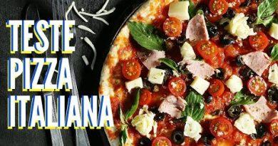 comer pizza na italia