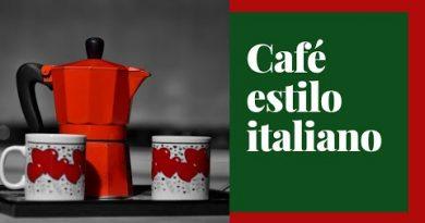 como preparar cafe usando a cafeteira italiana