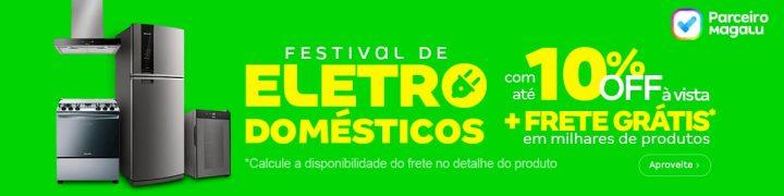 Promoção eletrodomésticos