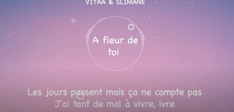 aprender francês com música - a fleur de toi