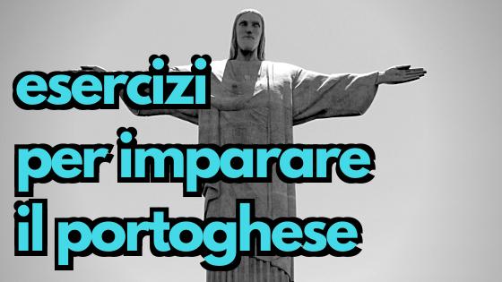 esercizi per imparare il portoghese
