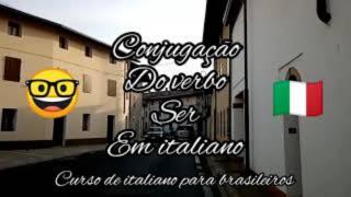 verbo ser em italiano verbo esser conjugação