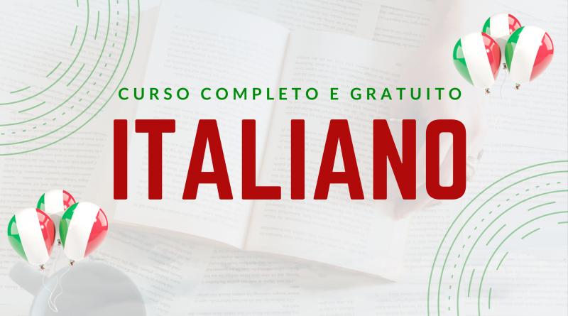 curso completo e gratuito de italiano para brasileiros da escola de italiano para brasileiros