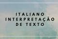 Interpretação de texto em língua italiana - Sud Africa