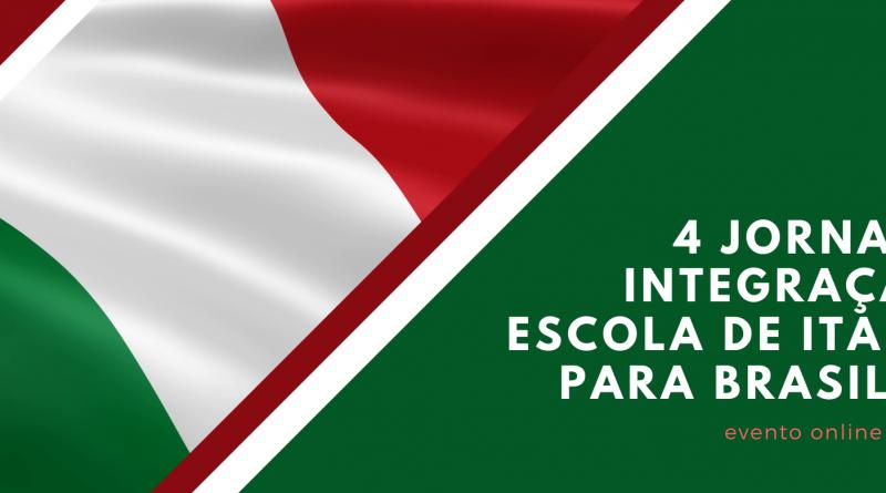 4 Jornada de Integração da Escola de Italiano para Brasileiros
