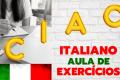 "Aula de italiano para iniciantes ""A1"": Exercício sobre o ALFABETO ITALIANO"