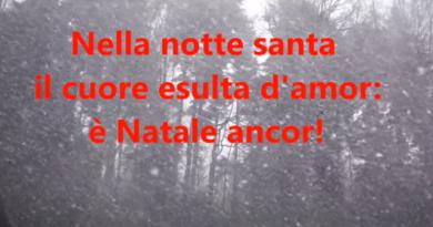 Bianco Natale - música de natal italiana com letra