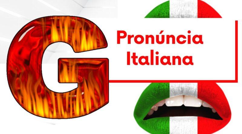 pronúncia do g em italiano