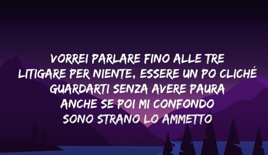 aprender italiano com a música Concedimi de Matteo Romano