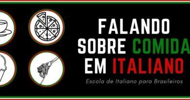 falar em italiano