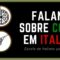 Falando sobre comidas e bebidas em italiano