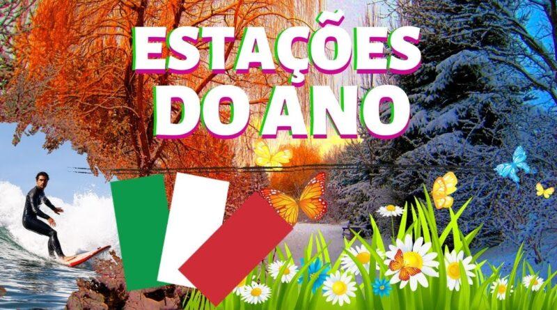como falar as estações do ano em italiano