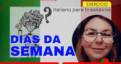 os dias da semana em italiano aula iniciantes curso gratis completo