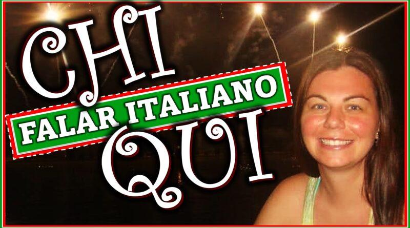 chi ou qui italiano falar aprender