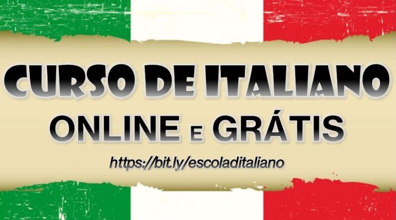 curso de italiano online e gratis